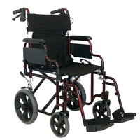 "Shoprider 19"" Transport Wheelchair (RG19HBD)"