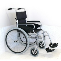 "Crystal 18"" Lightweight Aluminium Wheelchair"