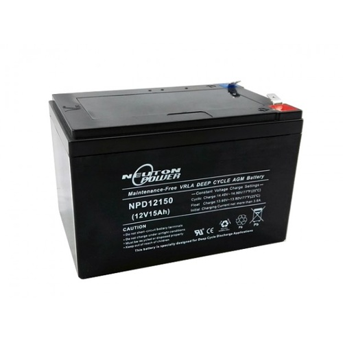 Neuton Power Deep Cycle Battery 15AH 12V